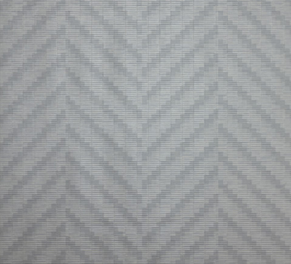 GEOMETRIC VINYL WALLPAPER WAVE BY DEDAR 601x545