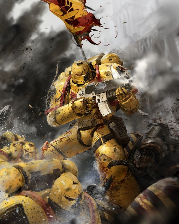 Imperial Fists image   Warhammer 40K Fan Group   Mod DB 620x776