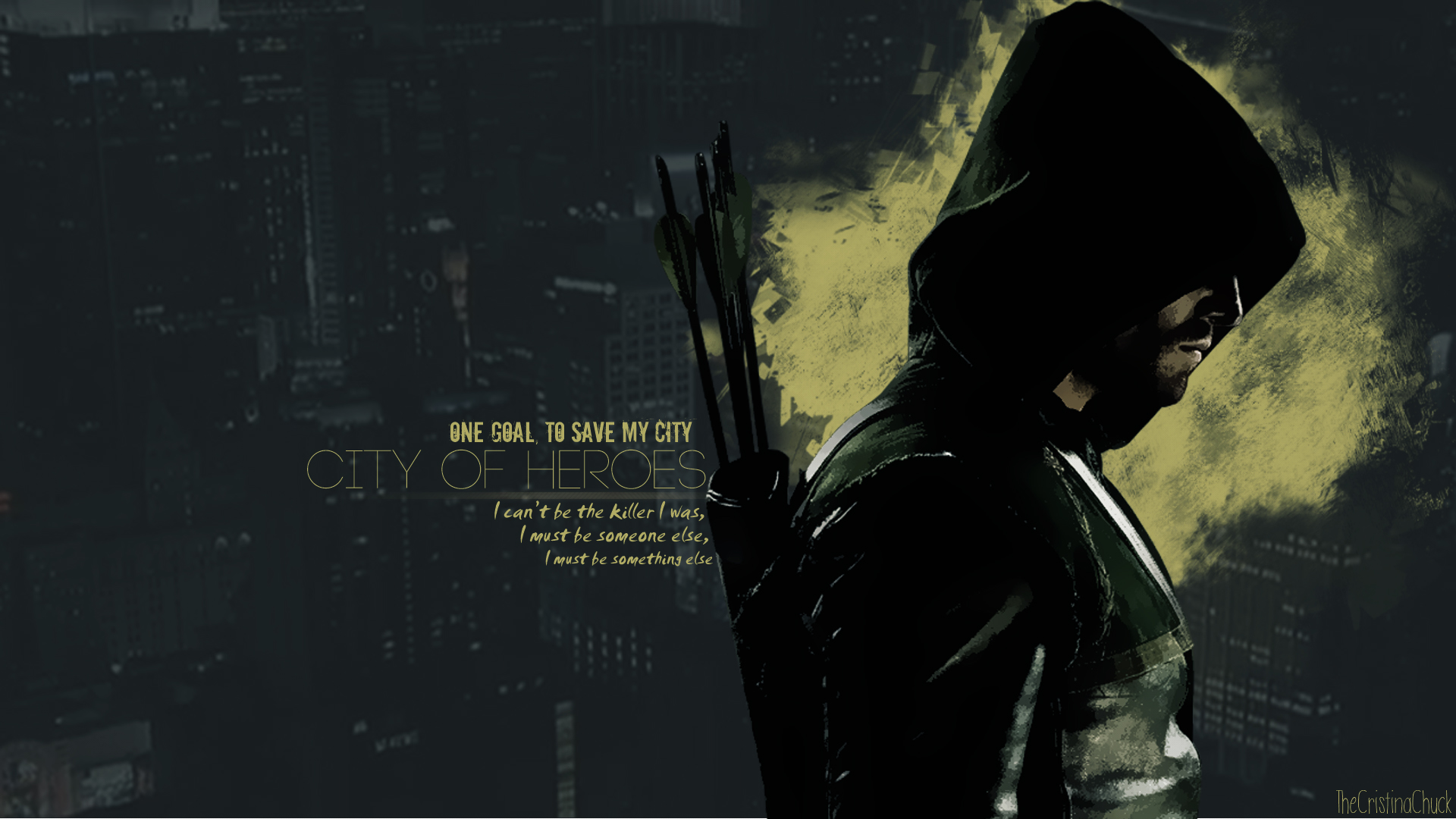 Green Arrow Wallpaper by TheCristinaChuck 1920x1080