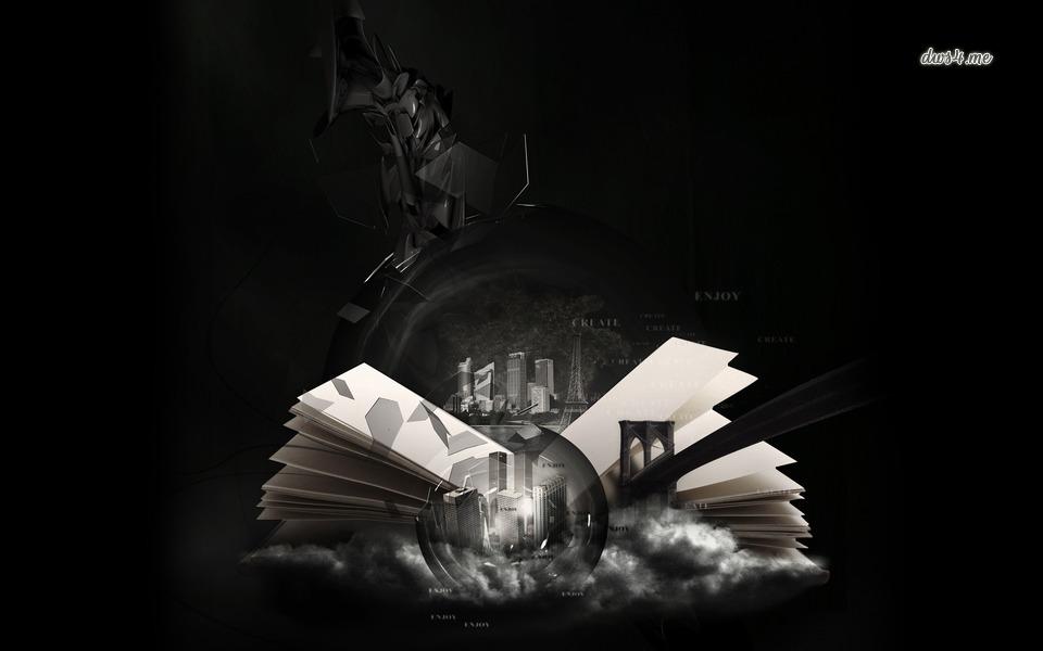 The World in a Book a wallpaper via Desktop Wallpaper 4 Me 960x600
