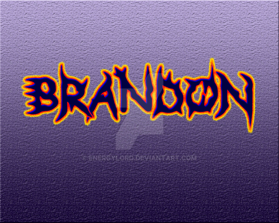 Harsh Name Wallpaper   Name Brandon In Bubble Letters Hd 900x720