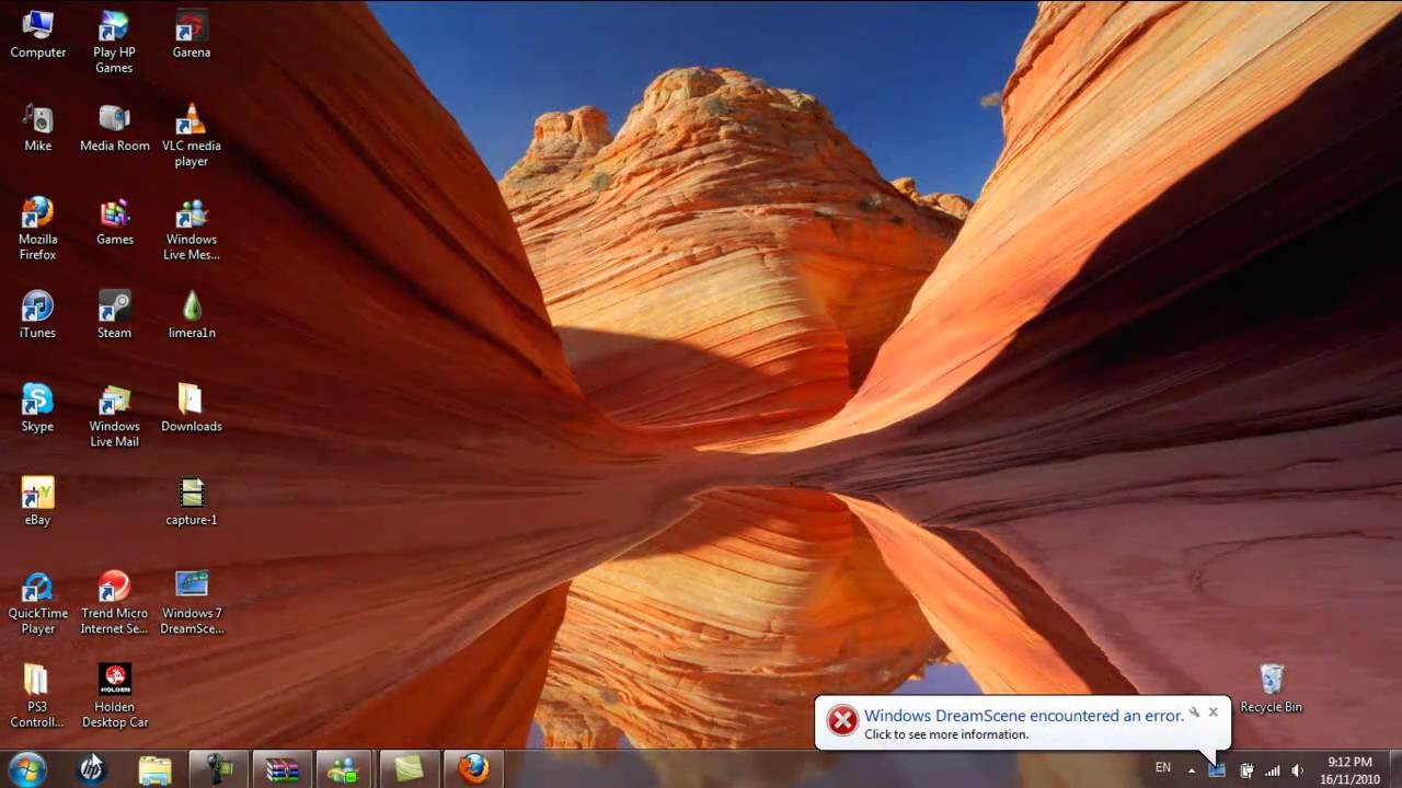 How to get Video WallpapersDesktop Background on Windows 7 HD 1280x720