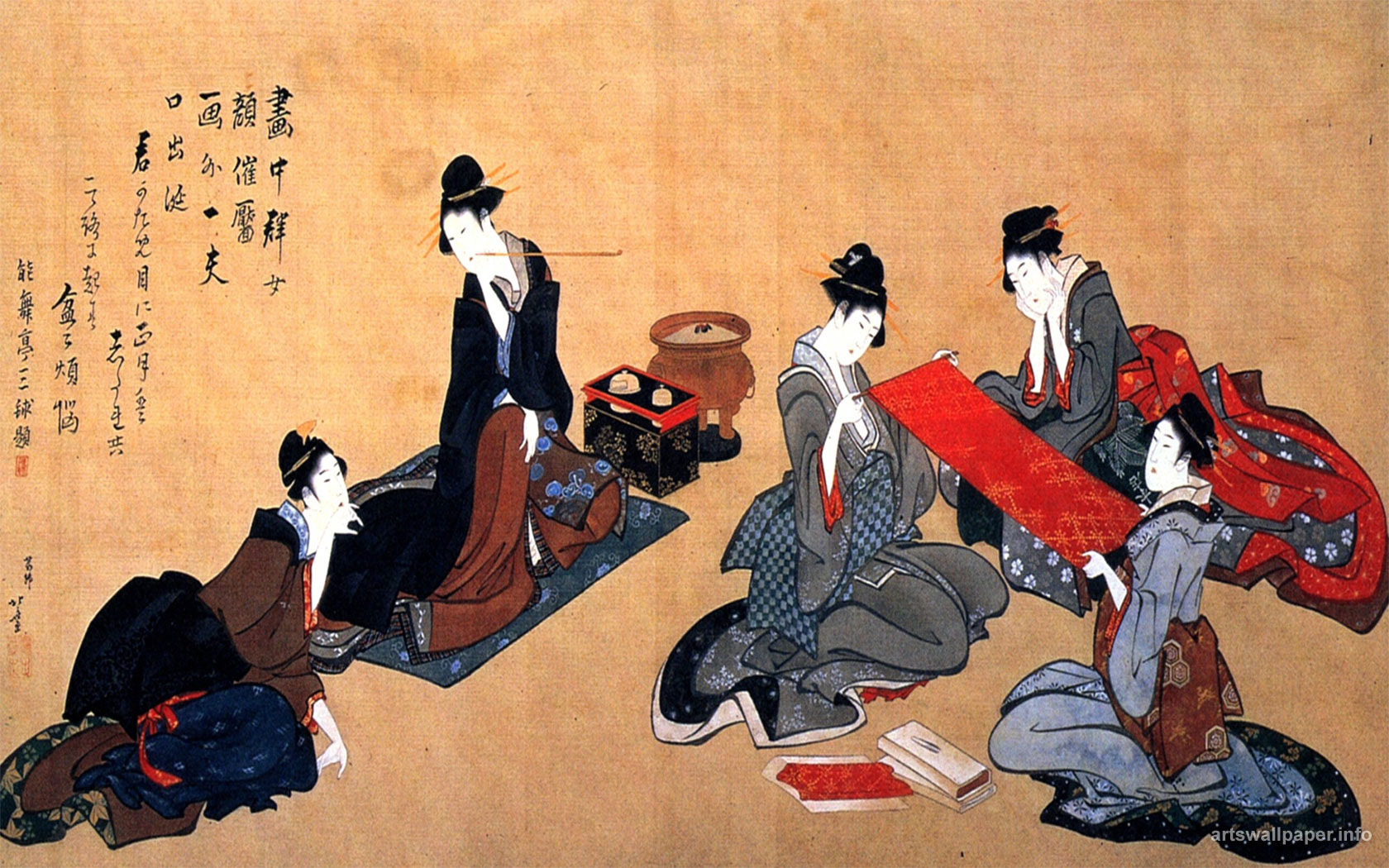 Katsushika Hokusai Wallpapers Japan Art Wallpapers Painting Picture 1680x1050