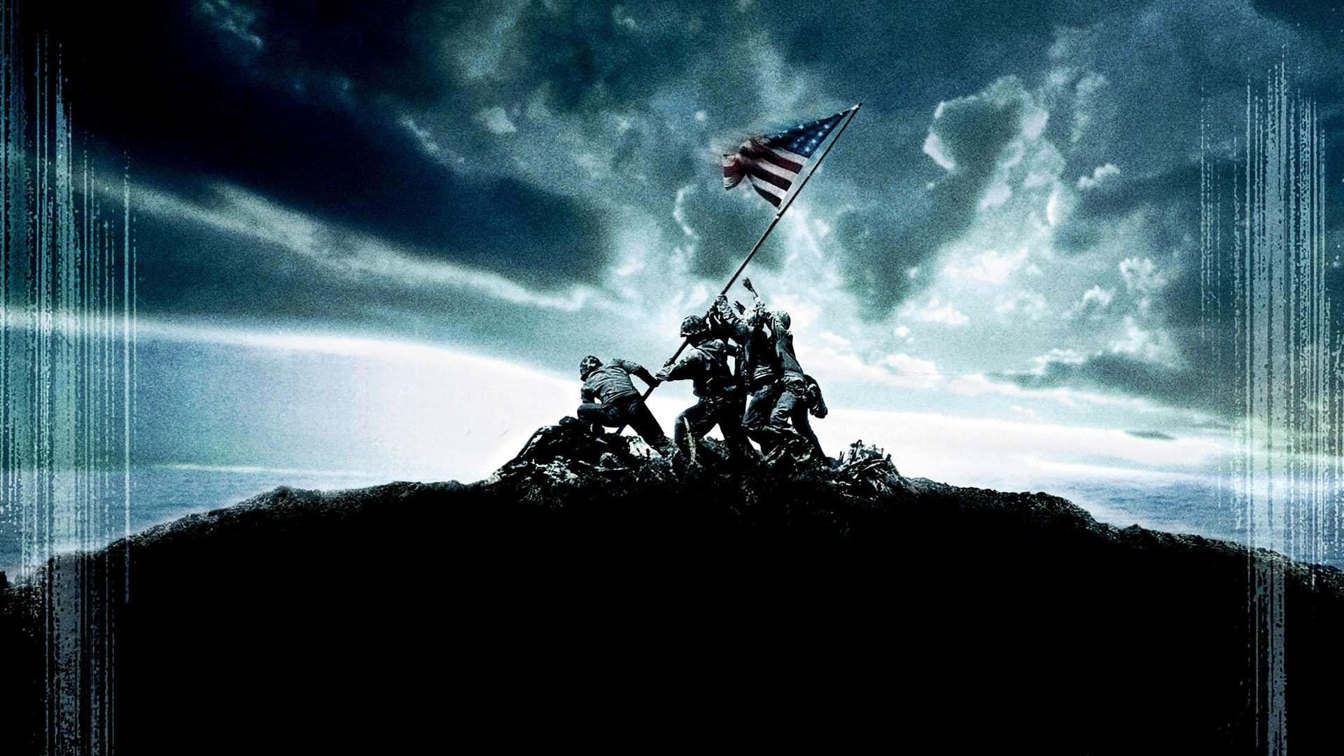 Marine Corp Desktop Wallpaper: Marines In Combat Wallpaper