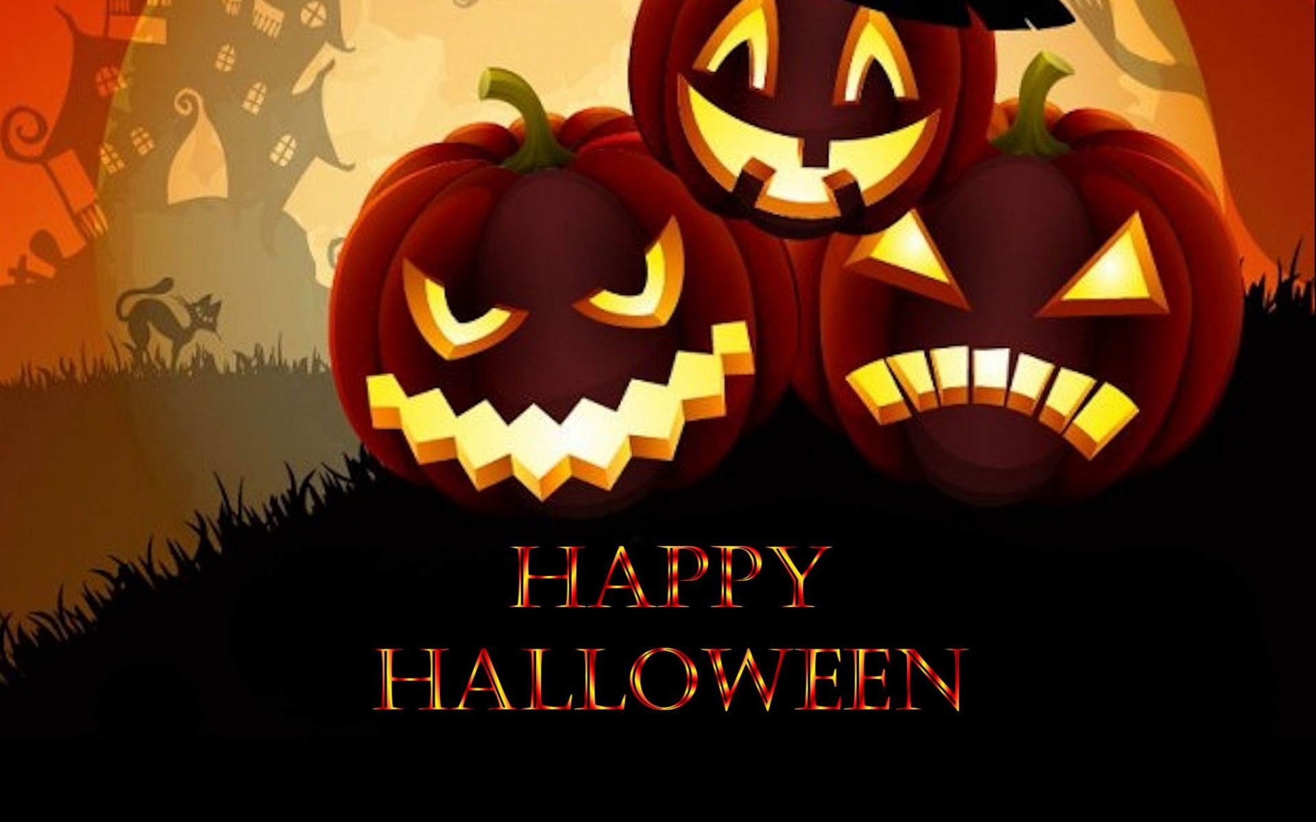 Scary Happy Halloween Pictures Download For Facebook 1920x1200