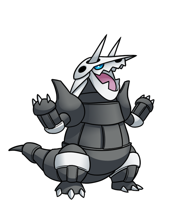 Agressive Aggron by Red Flare 695x849