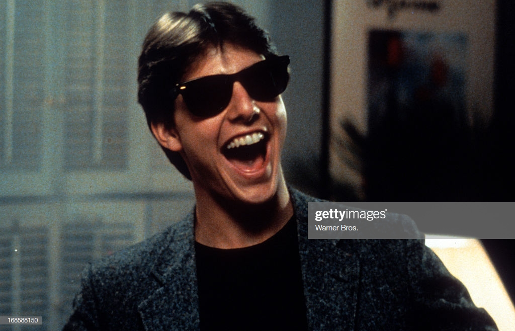 Tom Cruise laughs in a scene from the film Risky Business 1983 1024x658