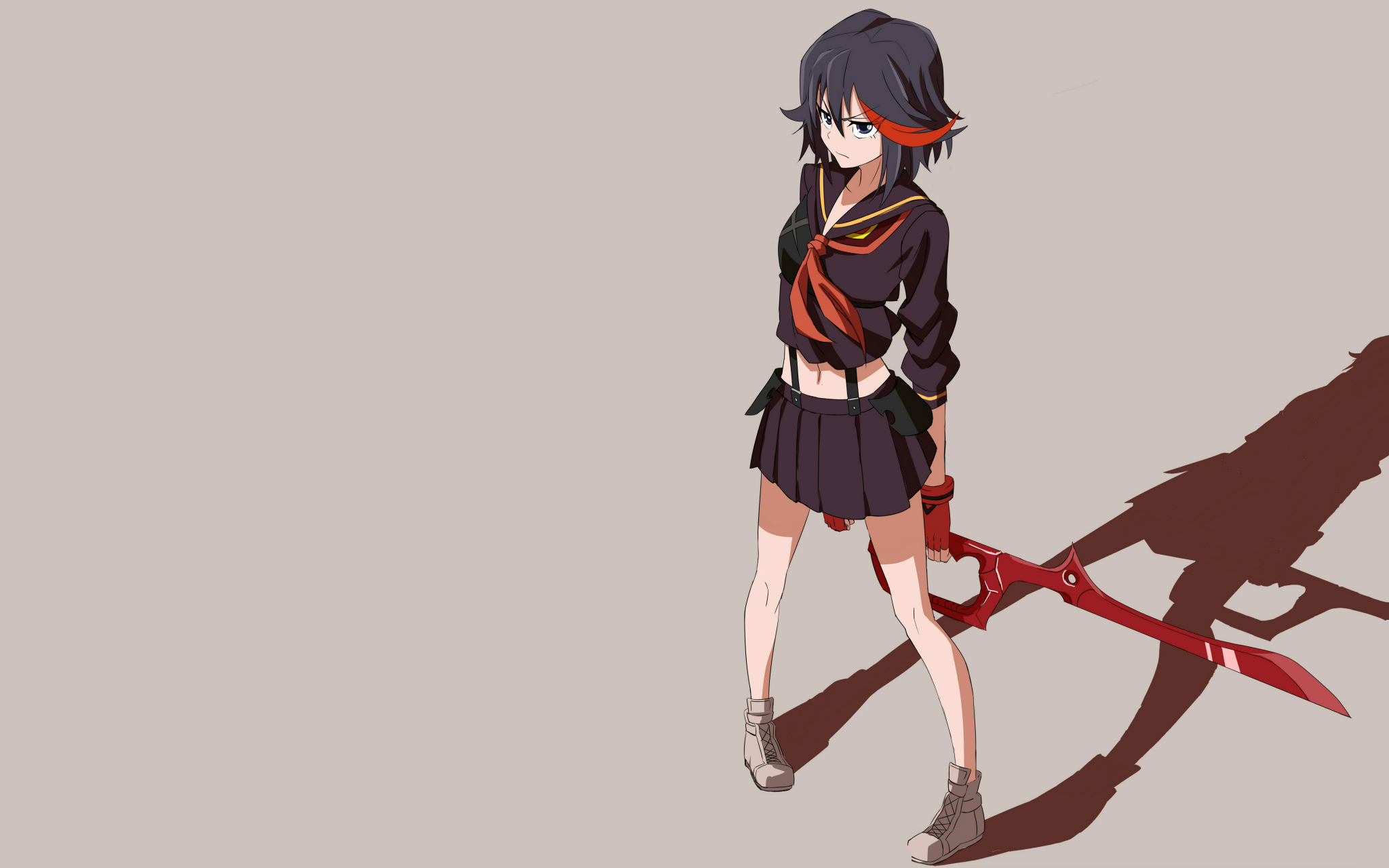 Kill la kill matoi ryuuko sword weapon wallpaper 2048x1280 156799 2048x1280