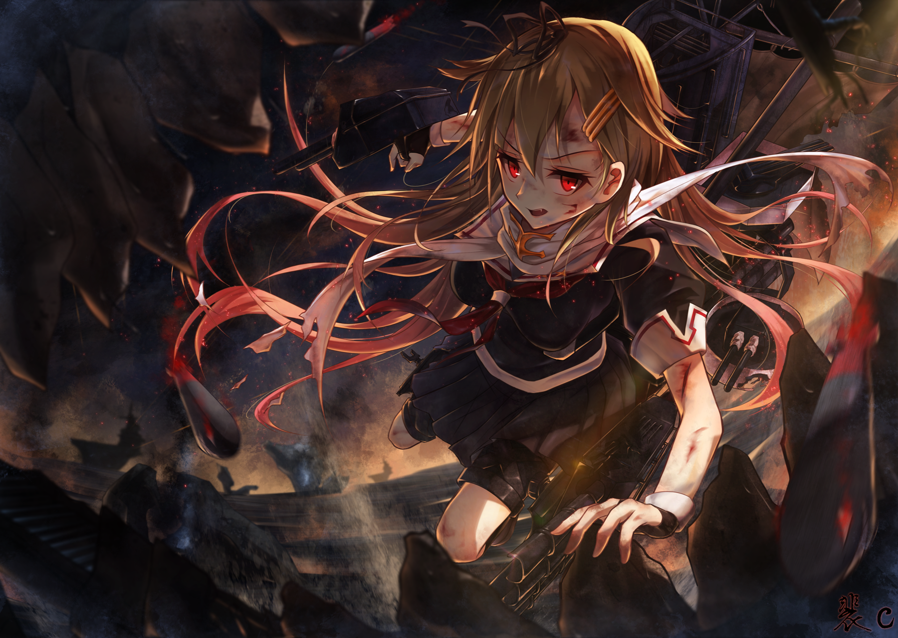 2626 Kantai Collection HD Wallpapers Background Images 1800x1279