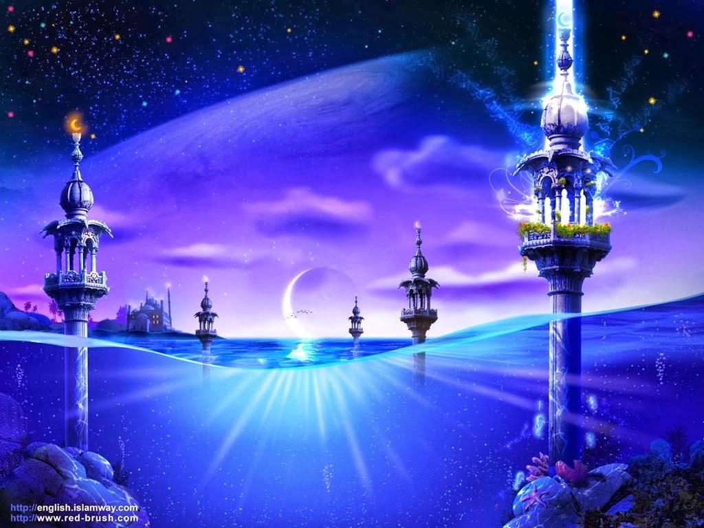 3D Beautiful Islamic Wallpapers Download Hd Wallpapers 2u 1024x768