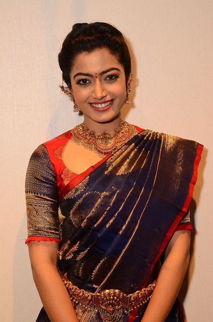 Rashmika Mandanna In Saree   678x1024 Wallpaper   Ecopetitcat 678x1024
