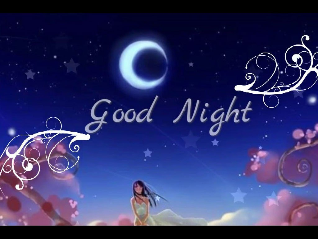 Good Night Wallpaper Good Night Sweet Dreams   Whatsapp Good Night 1024x768