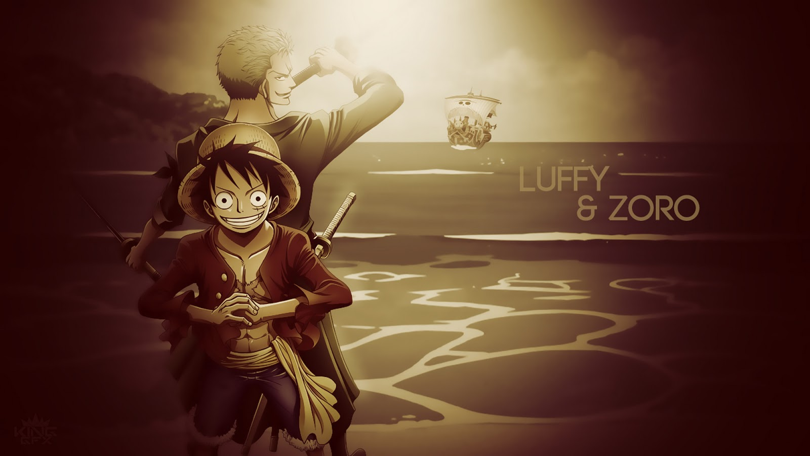 Free Download Monkey D Luffy Roronoa Zoro One Piece Straw Hat Anime Hd Wallpaper 1600x900 For Your Desktop Mobile Tablet Explore 49 Luffy Hd Wallpaper Monkey D Luffy Wallpapers