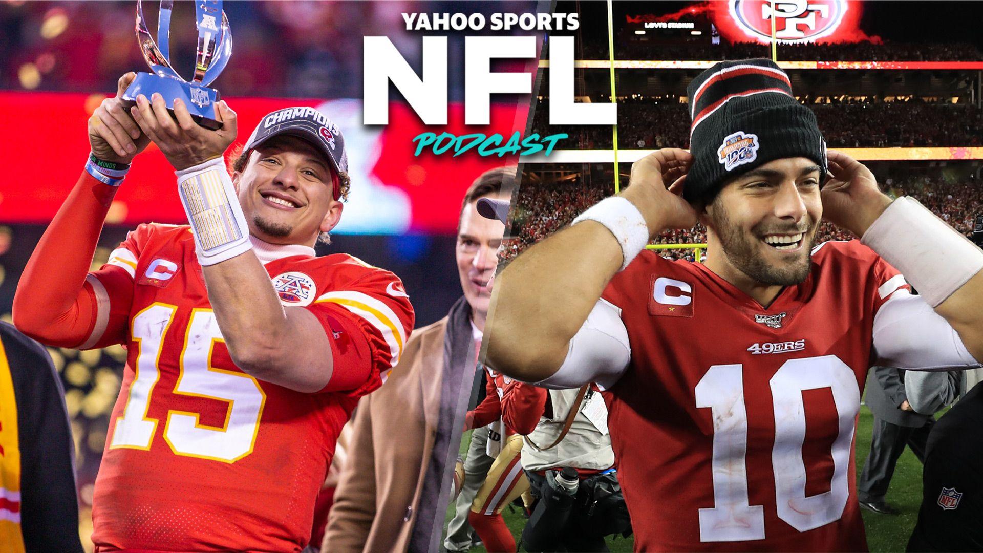 NFL Podcast Chiefs 49ers convincingly advance to Super Bowl LIV 1920x1080