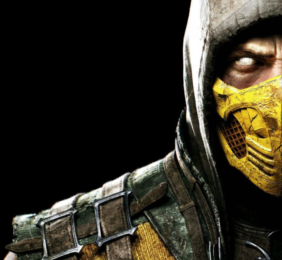 Mortal Kombat X   Scorpion by Theomeganerd 932x858