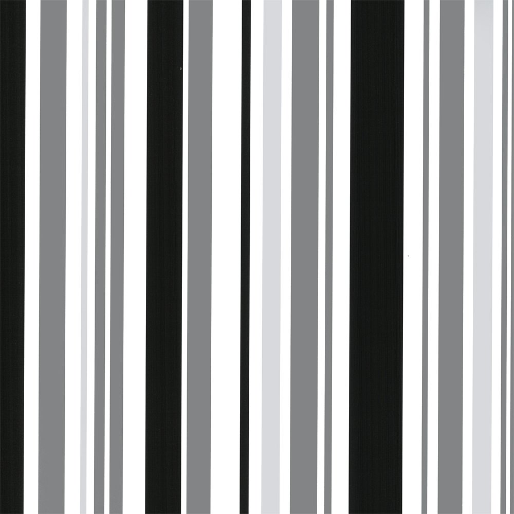 Black white and silver wallpaper wallpapersafari - Black and white striped wall ...
