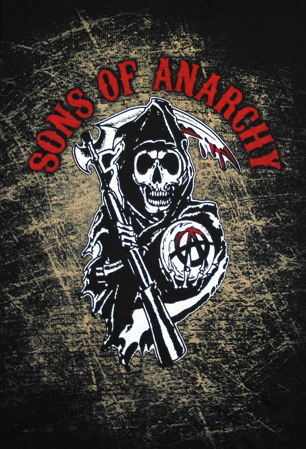 45 Sons Of Anarchy Logo Wallpaper On Wallpapersafari