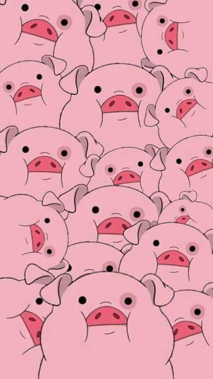 Pig wallpaper Cartoon wallpaper iphone Pig wallpaper Cartoon 720x1280