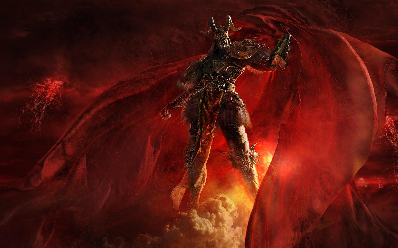 Dark Demon Wallpaper 1680x1050 Dark Demon 1680x1050