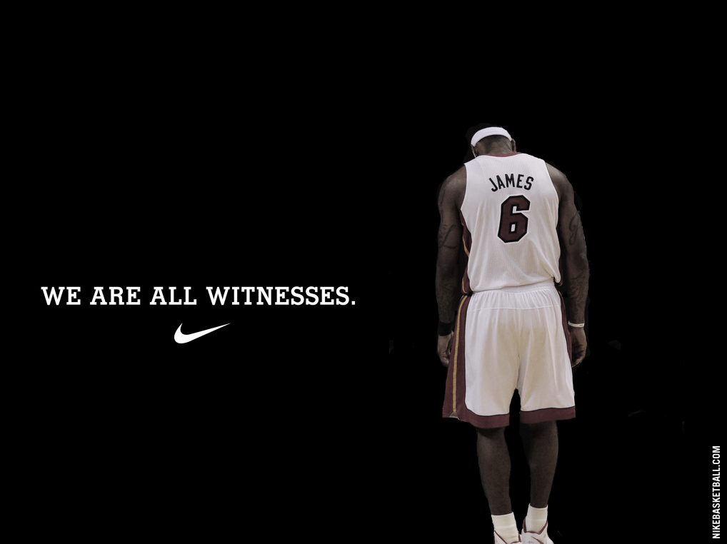 Back Gallery For Lebron James Wallpaper We Are All Witnesses Heat 1018x762
