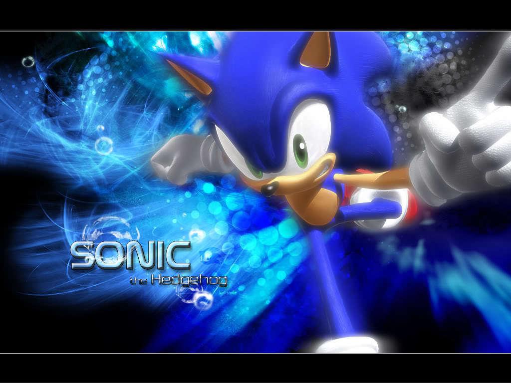 Sonic The Hedgehog Cool Wallpaper 1024x768