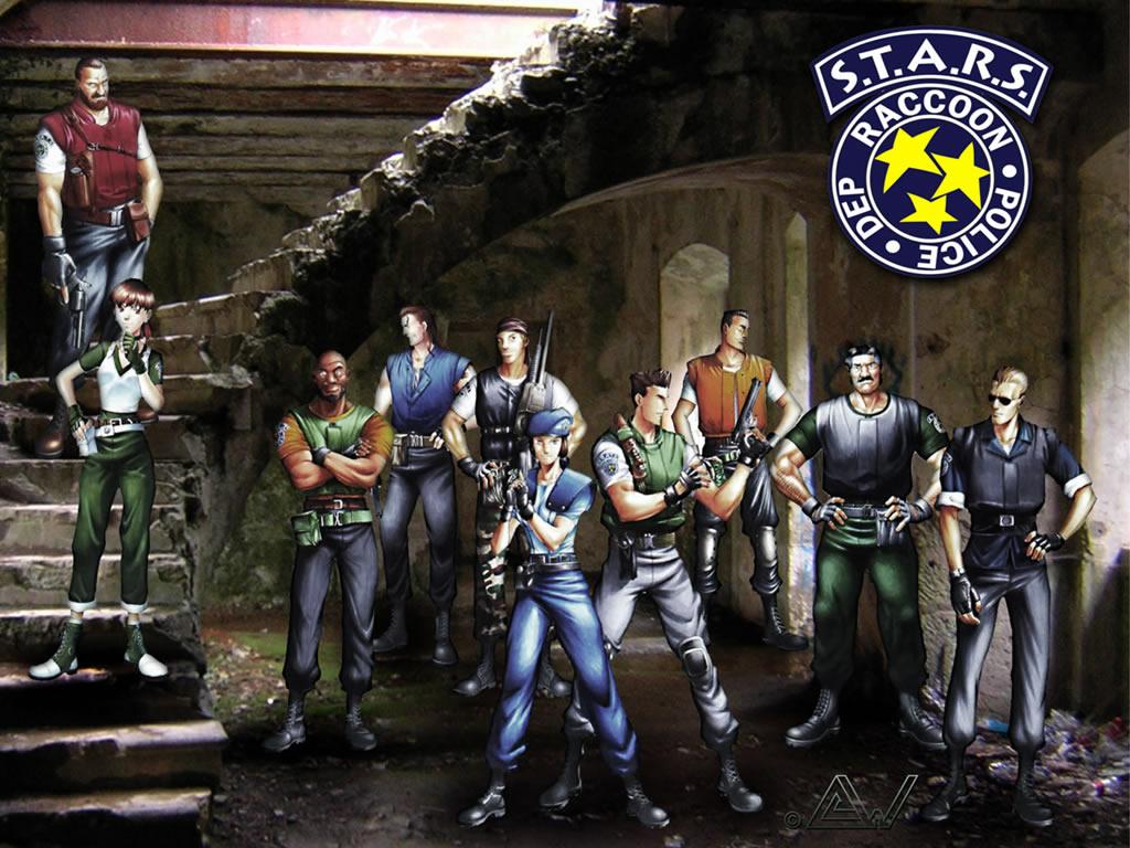 Resident Evil no jogo de zumbi 1024x768