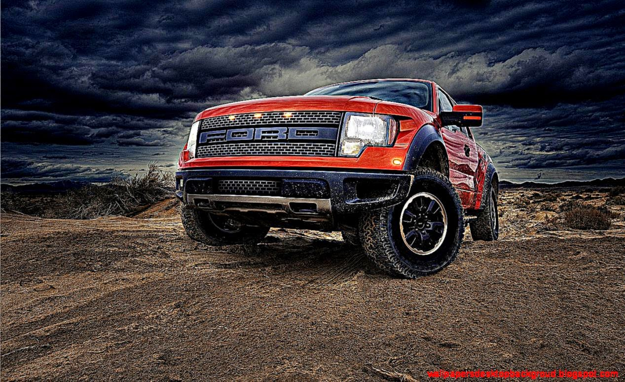 3D Ford Pickup Trucks Wallpapers Desktop Backgroud 1267x774
