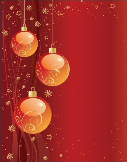 Christmas Party Invitation Background 432x553