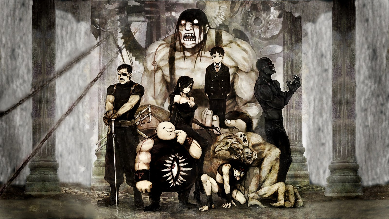 Fullmetal alchemist wallpaper 1600x900 HQ WALLPAPER   44661 1600x900