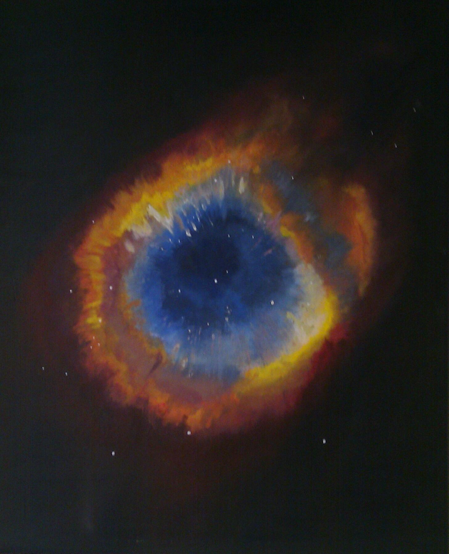 helix nebula eye of god - HD 1456×1794
