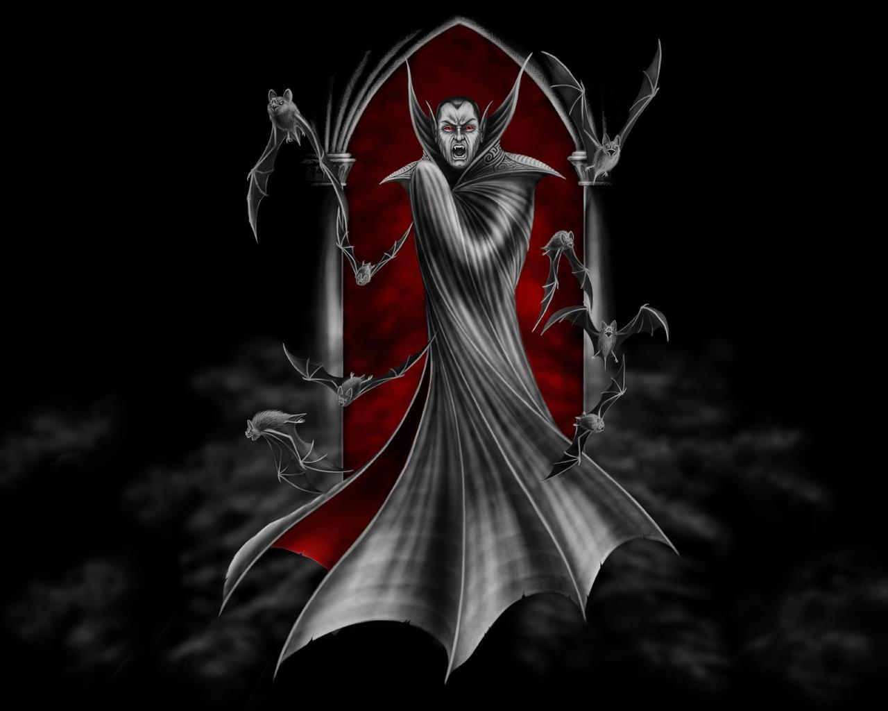9000 Wallpaper Animasi Vampir  Paling Keren