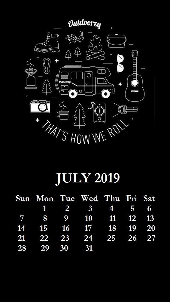 iPhone July 2019 Calendar Wallpaper Backgrounds Wallpapers in 566x1005