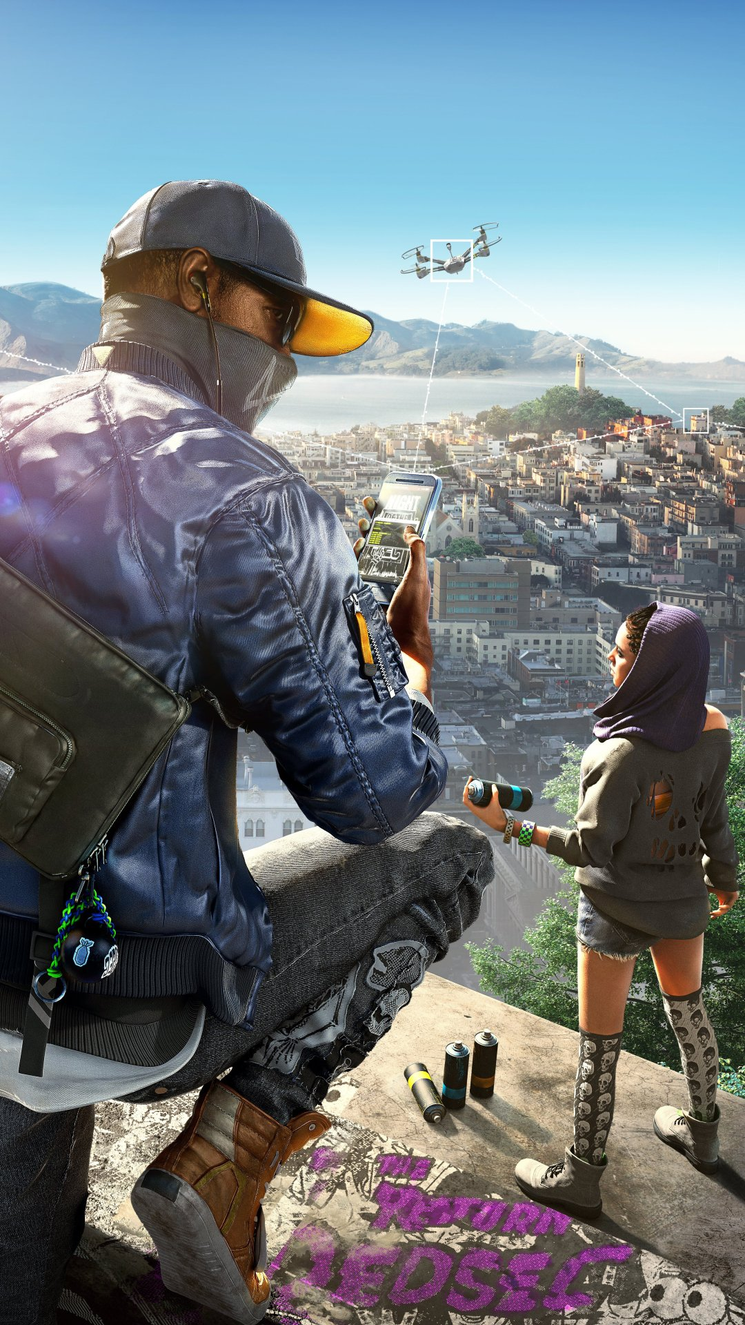 73+ Watch Dogs 2 Video Game Wallpapers on WallpaperSafari