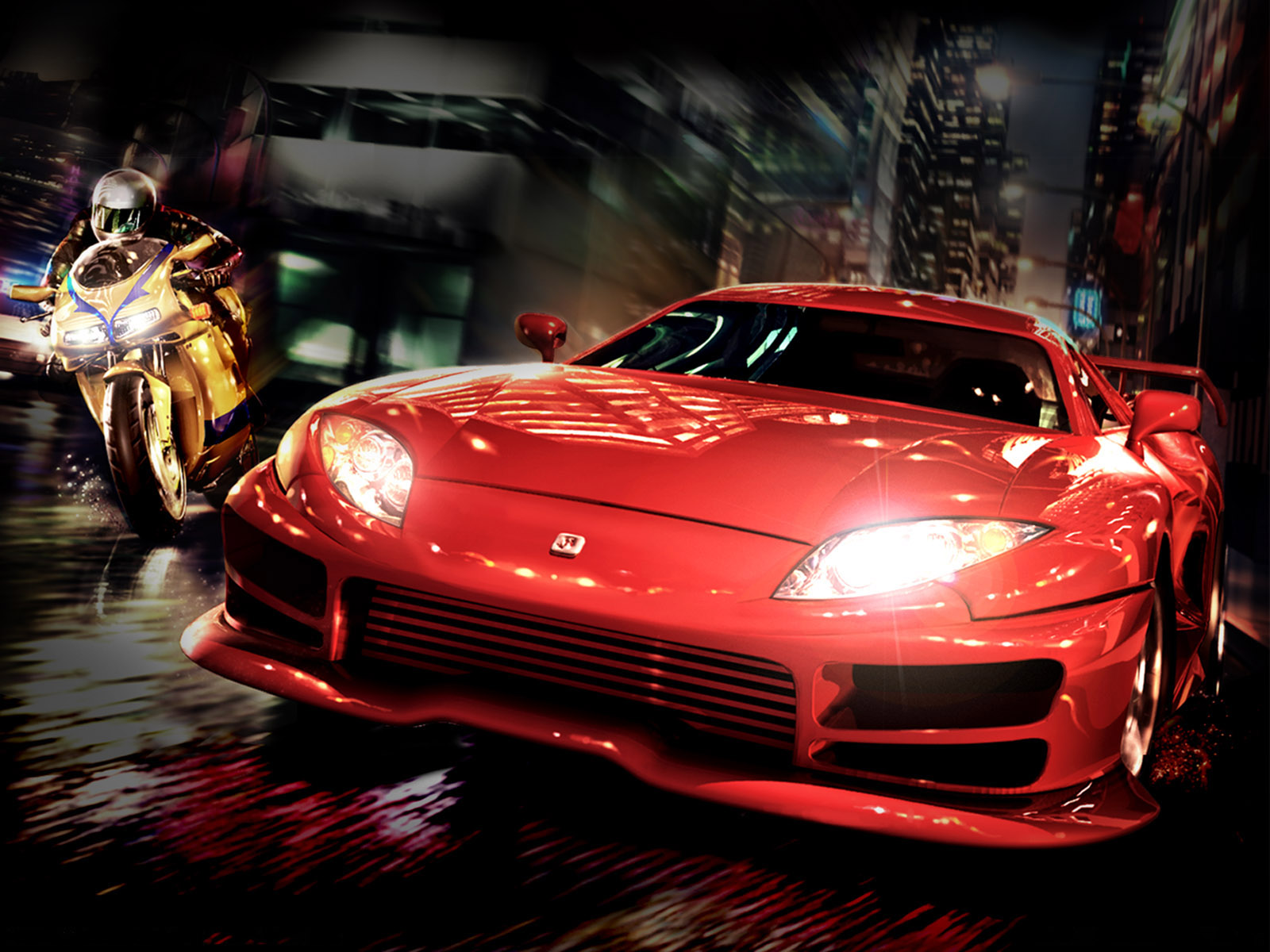 3D Cars Wallpapers For Desktop