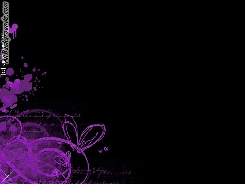 Purple Black Backgrounds   Twitter Myspace Backgrounds 800x600