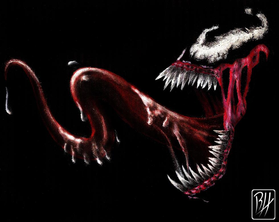 Ultimate Venom Wallpaper Ultimate venom by predaguy 980x778