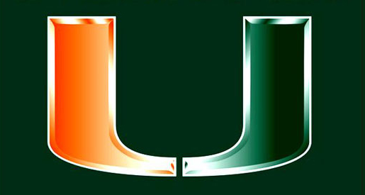 University Of Miami Hurricanes Logo The university of miami is 515x275