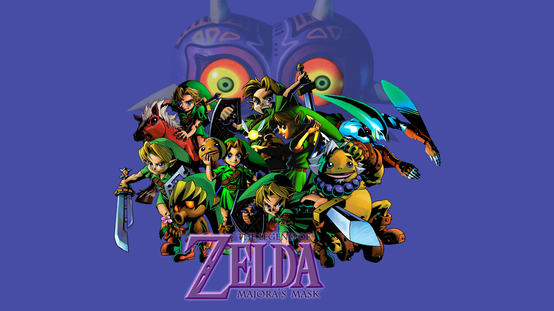 Majora S Mask Desktop Background: 3D Legend Of Zelda Wallpaper