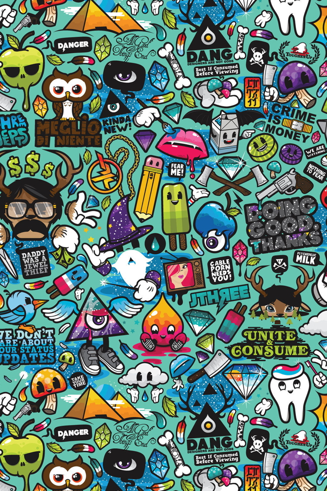 75 Retina Display iPhone Wallpapers Inspirationfeed 640x960