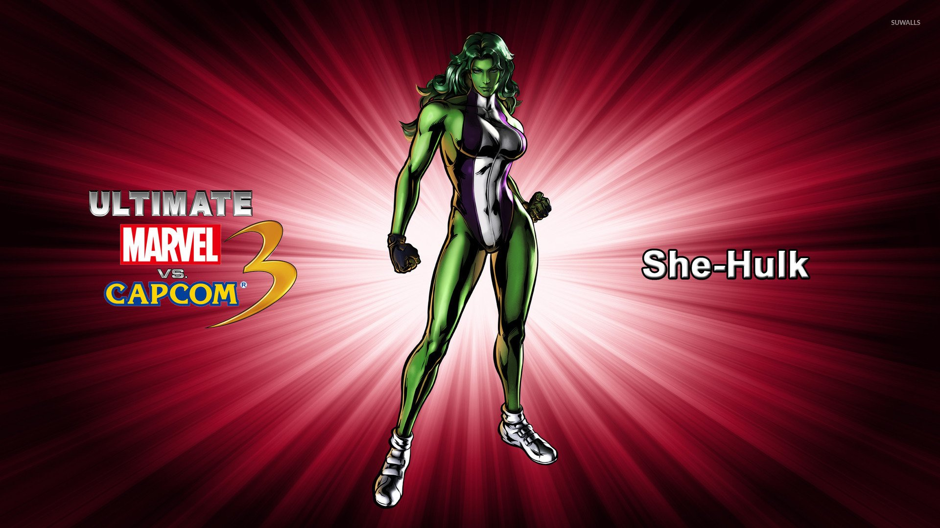 She Hulk   Ultimate Marvel vs Capcom 3 wallpaper   Game 1920x1080
