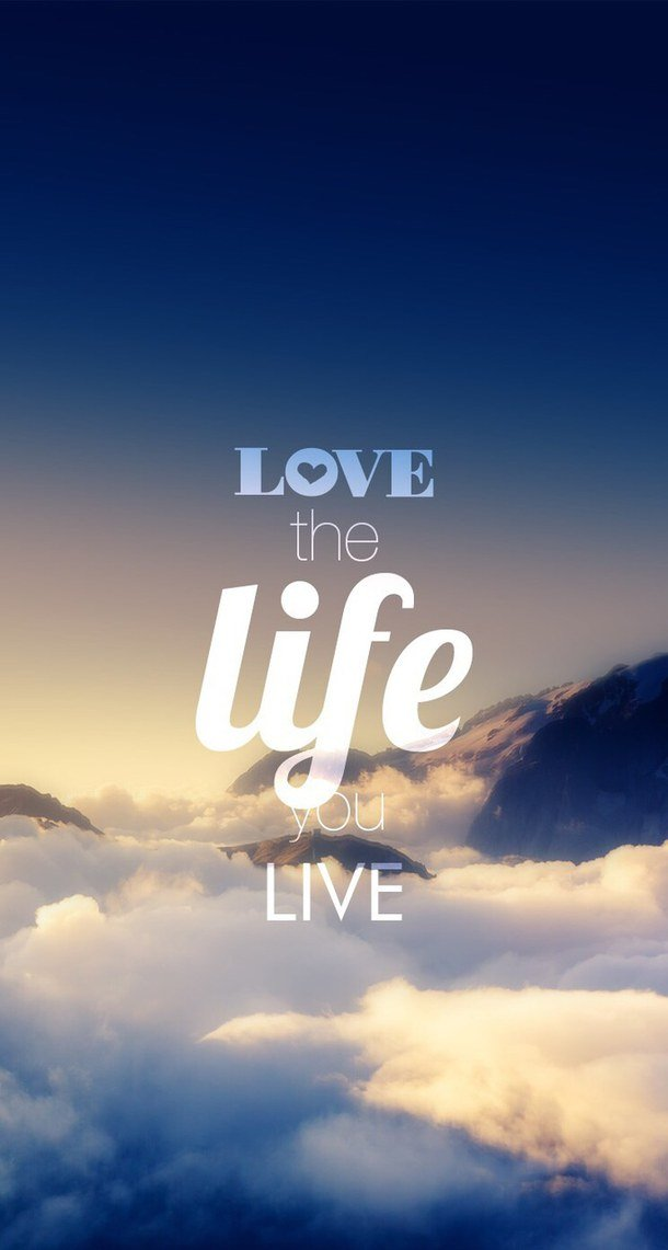Love Wallpapers With Text : Life Text Wallpaper - WallpaperSafari
