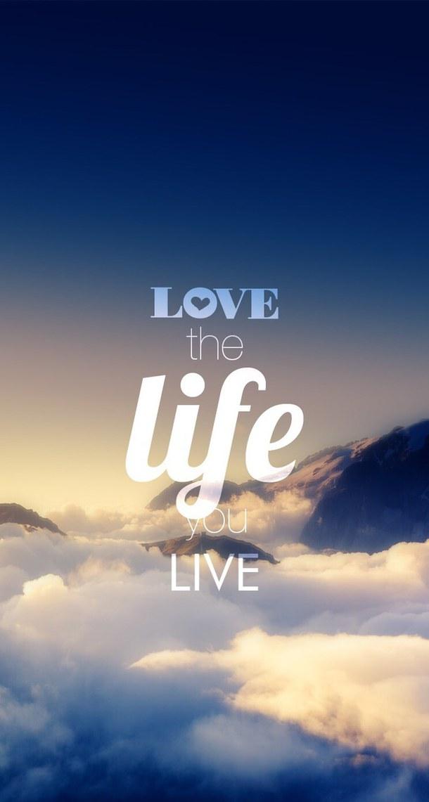 Life Text Wallpaper - ...