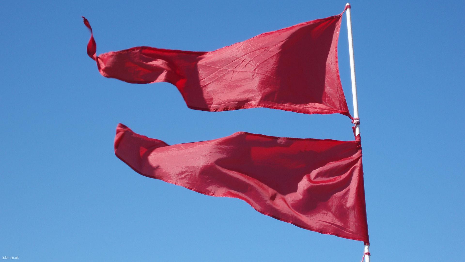 Red Flag Day Desktop Wallpaper iskincouk 1920x1080
