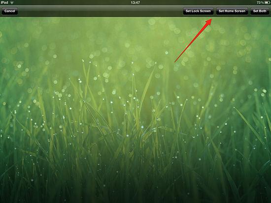 How to Change Wallpaper on an iPad   iPadable 550x413