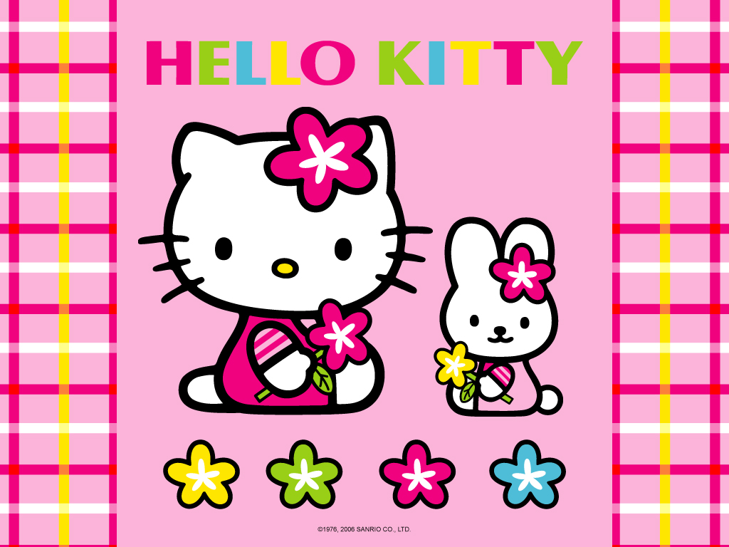 Hello Kitty Easter Wallpaper Wallpapersafari