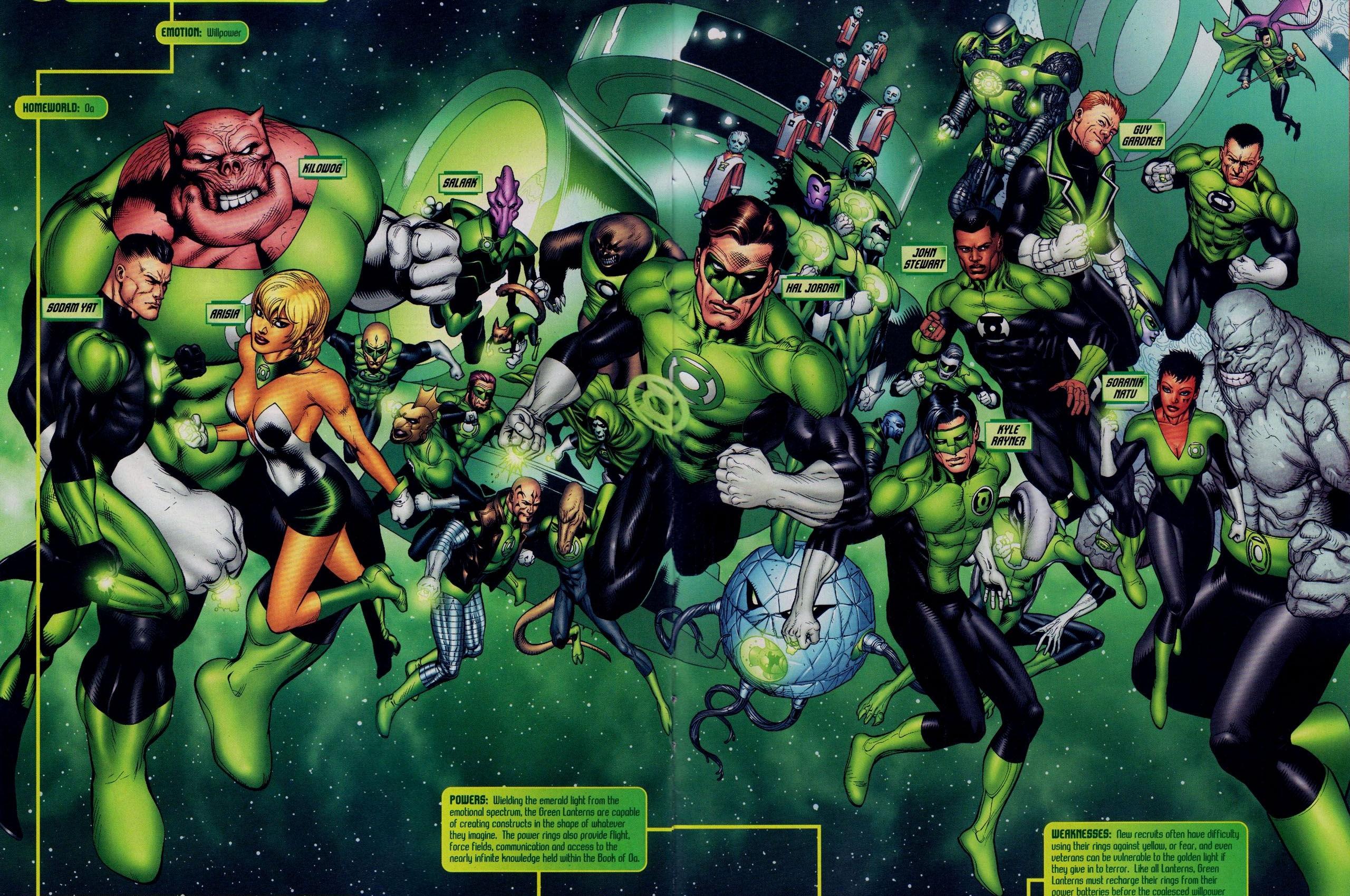 download Green Lantern Corps Wallpapers Top Green Lantern 2560x1700