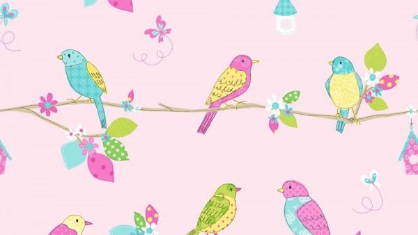 Birds and Butterflies Wallpaper Pattern   HD Butterfly Wallpapers 600x338