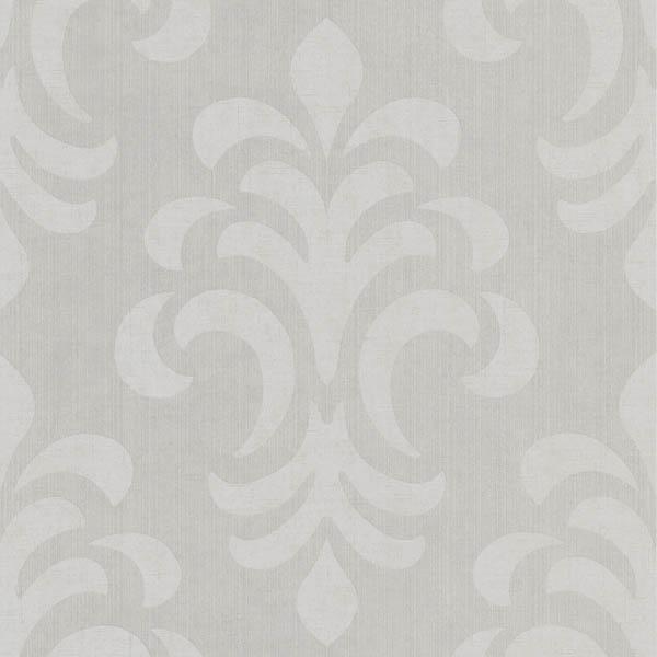 66965 Grey Modern Damask   Atlantic Damask   Kenneth James Wallpaper 600x600