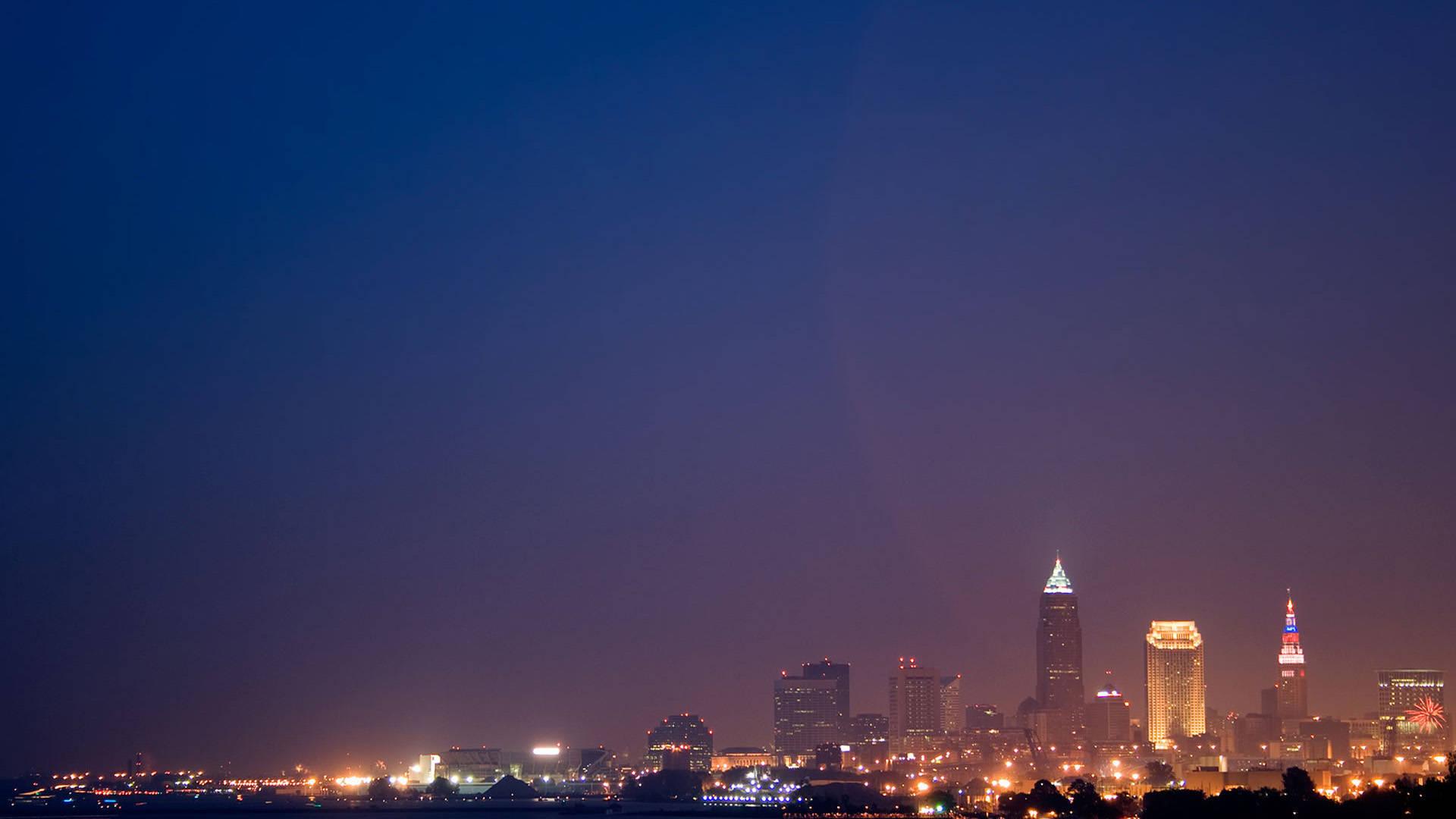 Cleveland Ohio At Night [1920x1080 ...