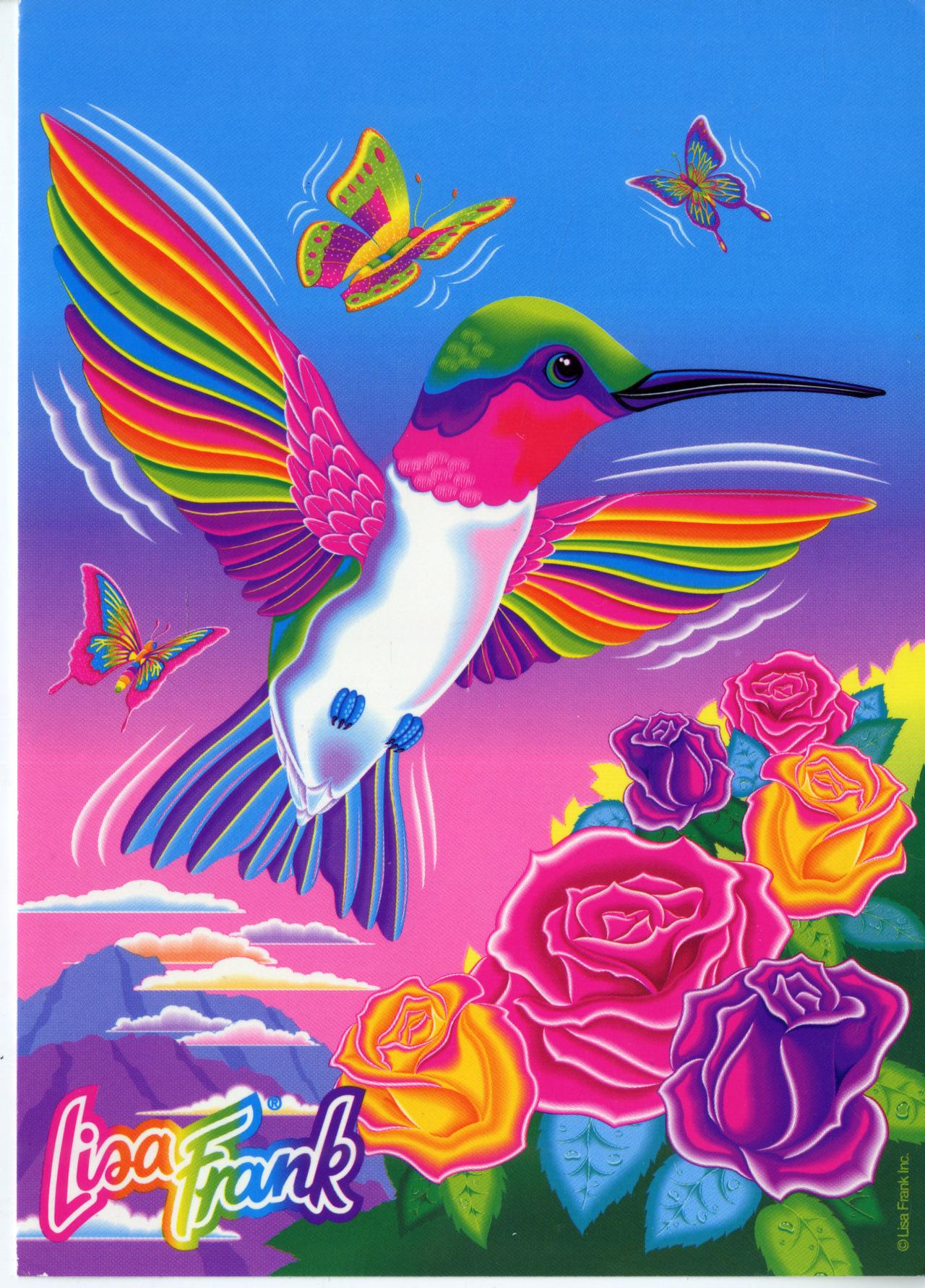 babylicketysplit Dashly the Hummingbird Lisa Frank Party 1280x1782